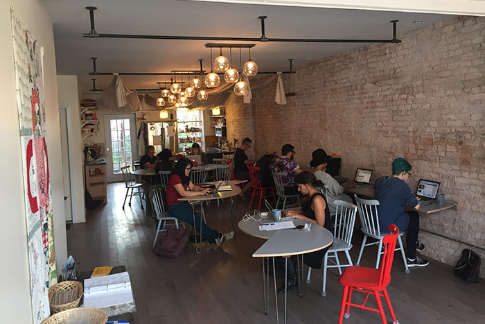 Co-working at St. Lydia's